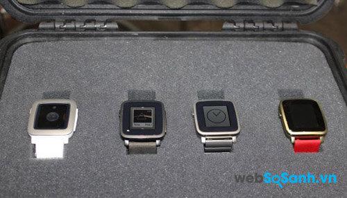 Đánh giá đồng hồ thông minh Pebble Time Steel