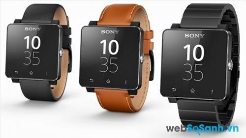 Đánh giá đồng smartwatch Sony SmartWatch 2: thiết kế cứng cáp, thời lượng pin lâu dài