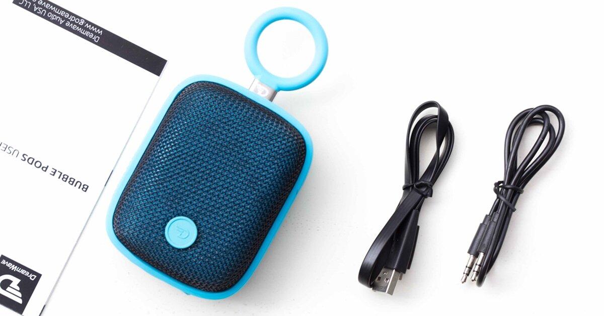 Đánh giá Dreamwave Bubble Pods: Loa chống nước sắc màu sặc sỡ