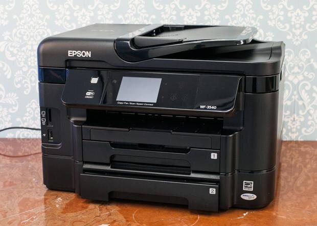 Đánh giá Epson WorkForce WF-3540 Phần 1: Tổng quan và thiết kế