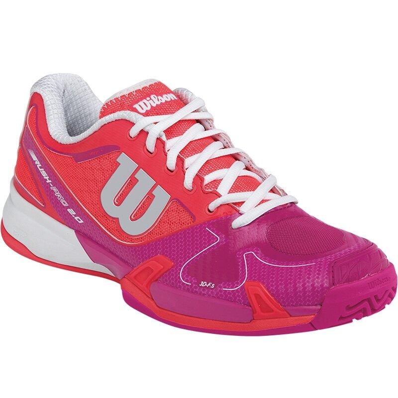 Đánh giá giày tennis Wilson Rush Pro