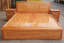 Đánh giá giường gỗ sồi có tốt không, giá bao nhiêu, mua loại nào?