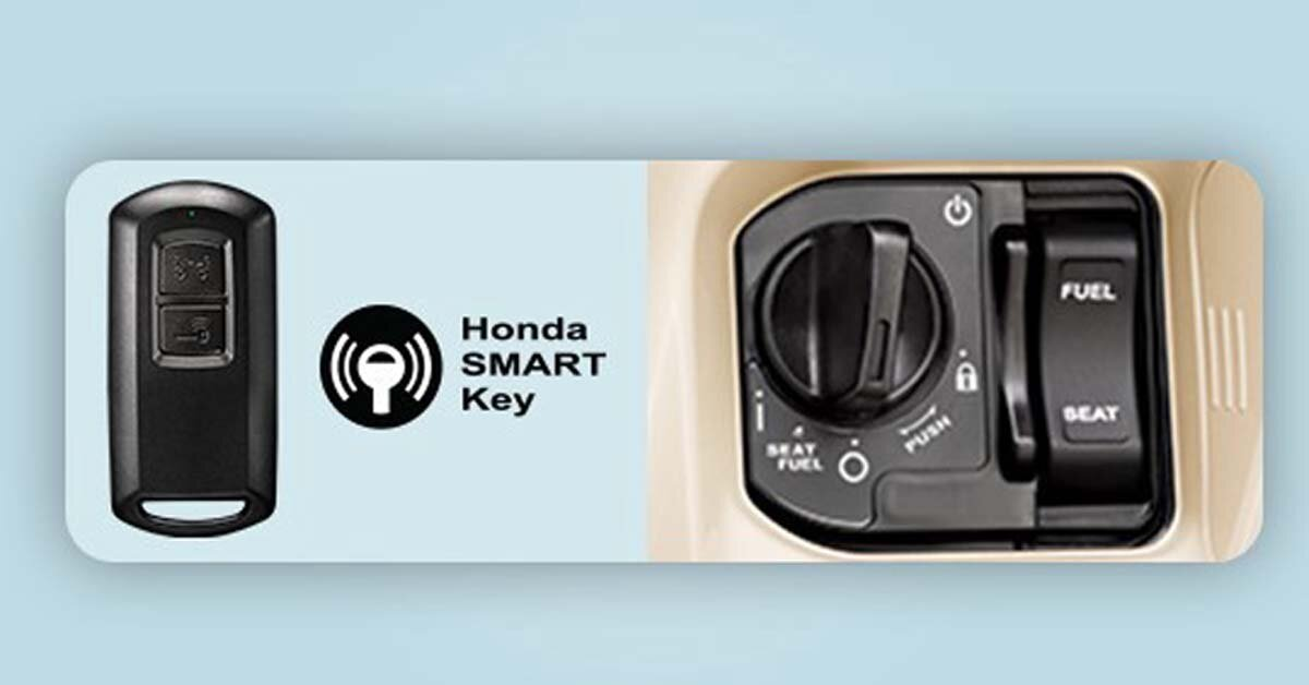 Đánh giá khả năng an toàn của chìa khóa thông minh SMARTKEY trên xe máy Honda Lead 2018
