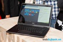 Đánh giá laptop Acer Aspire R 14: laptop lai tầm trung mạnh mẽ