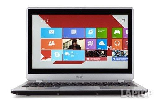 Đánh giá laptop Acer Aspire V5-122P – Giá mềm, phím chắc nhưng pin quá yếu