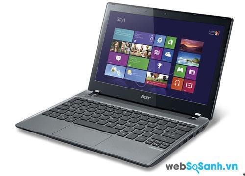 Đánh giá laptop Acer Aspire V5-171: laptop tầm trung hiệu suất cao cho sinh viên