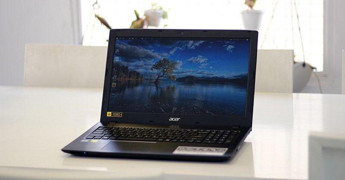 Đánh giá laptop Acer Aspire E5: Lựa chọn tuyệt vời cho năm học mới