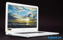 Đánh giá laptop Acer Chromebook 15: Chromebook 15 inch với pin bền bỉ