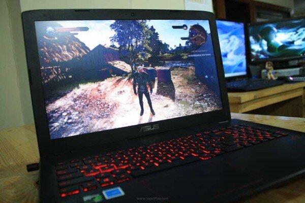 Đánh giá laptop chơi game giá rẻ Asus ROG GL552JX