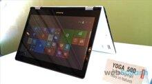 Đánh giá laptop di động Lenovo Yoga 500