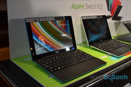 Đánh giá laptop lai giá rẻ Acer Aspire Switch 10 E