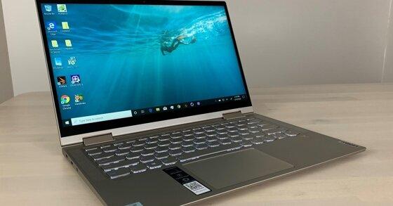Đánh giá laptop Lenovo Yoga C740: Hiệu năng vượt trên mức giá!