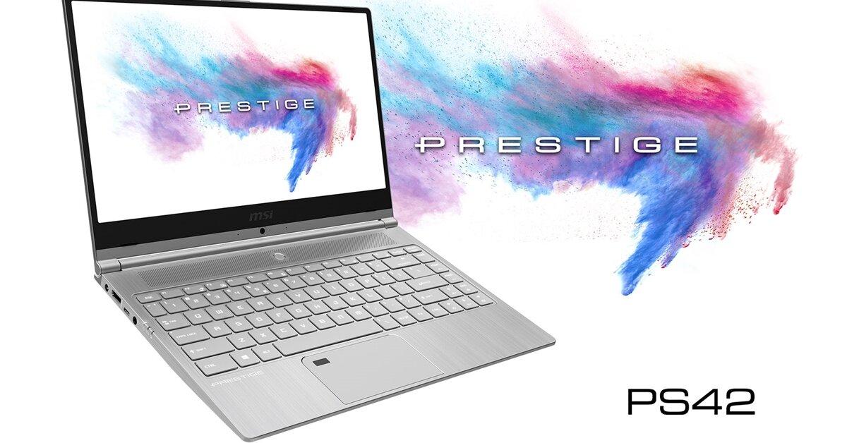 Đánh giá laptop MSI Prestige PS42