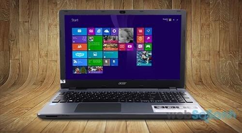 Đánh giá laptop sinh viên Acer Aspire E5 thiết kế đẹp cấu hình tốt