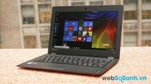 Đánh giá laptop sinh viên giá rẻ Lenovo Ideapad 100s