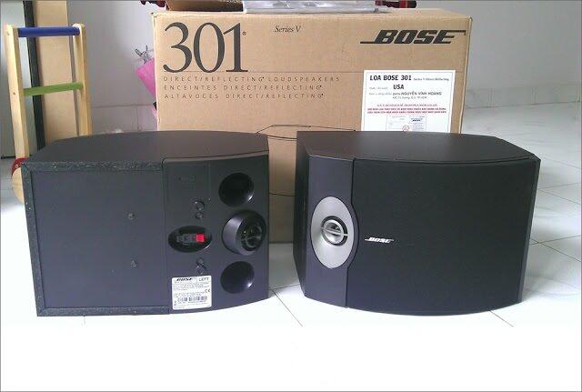 Đánh giá loa Bose 301-V (hàng Mỹ) – xứng tầm đẳng cấp