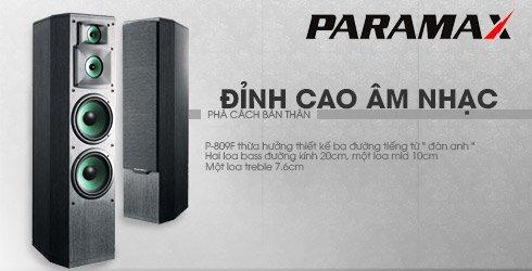 Đánh giá loa Paramax P-809F, trải nghiệm âm thanh chất lượng như tại rạp