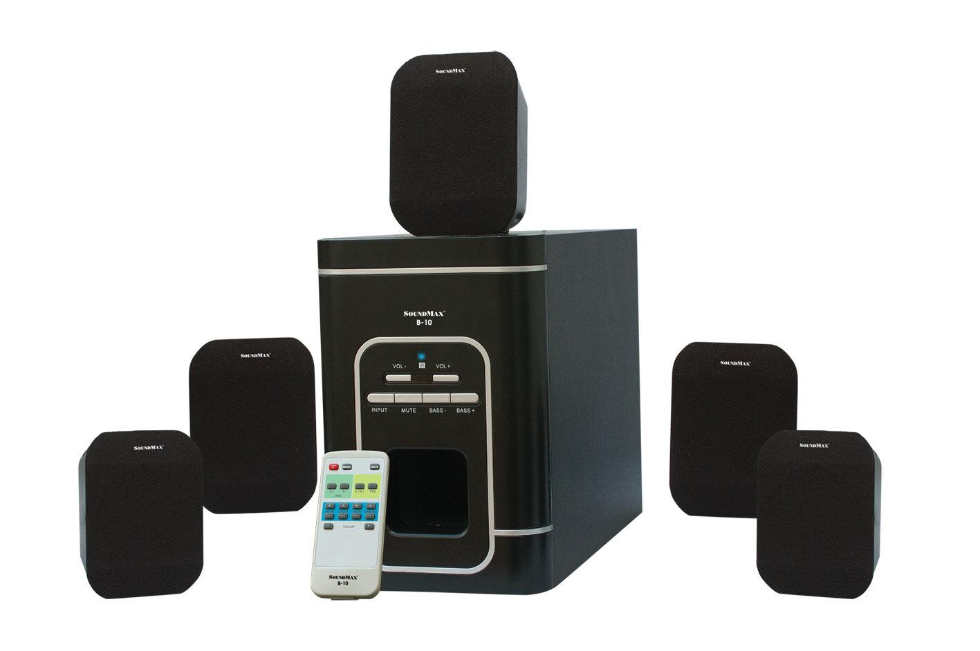 Đánh giá loa SoundMax B10 – 5.1, phù phép mọi giai điệu
