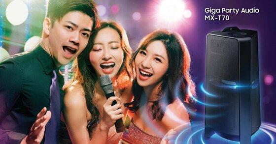 Đánh giá loa tháp Samsung Giga Party Audio MX T70