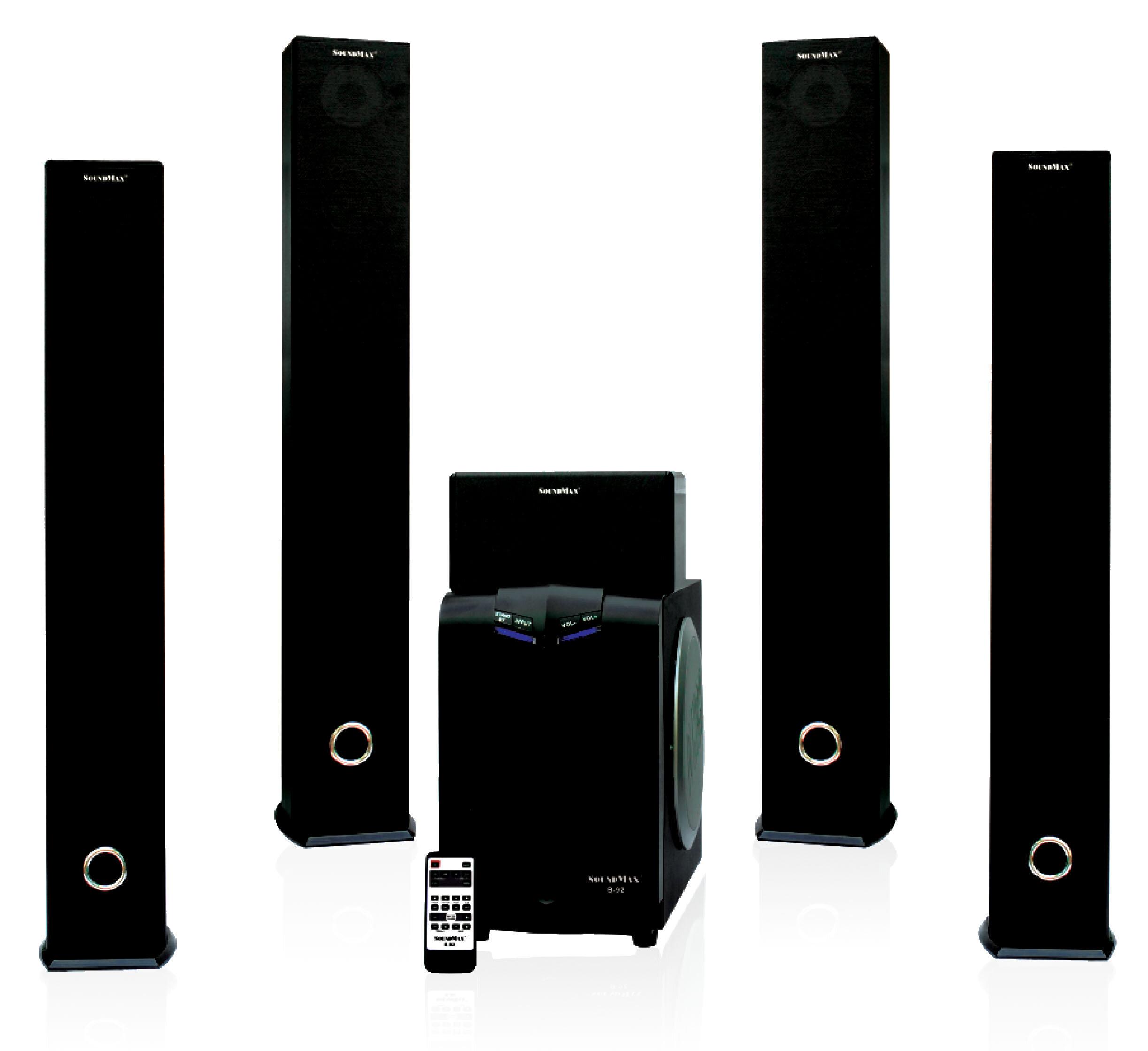 Đánh giá loa vi tính Soundmax B91 (B-91), 5.1- trải nghiệm âm thanh rạp hát