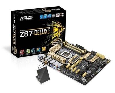 Đánh giá mainboard ASUS Z87-DELUXE  liệu nhà sản xuất có hơi phô trương?