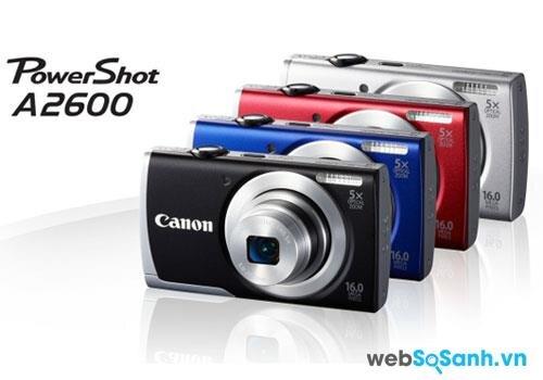 Đánh giá máy ảnh Canon PowerShot A2600