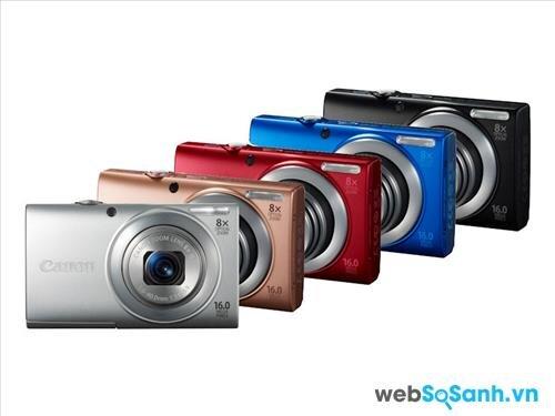 Đánh giá máy ảnh Canon PowerShot A4000 IS (phần 1)