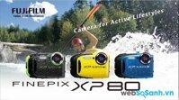 Đánh giá máy ảnh chống thấm nước Fujifilm XP80