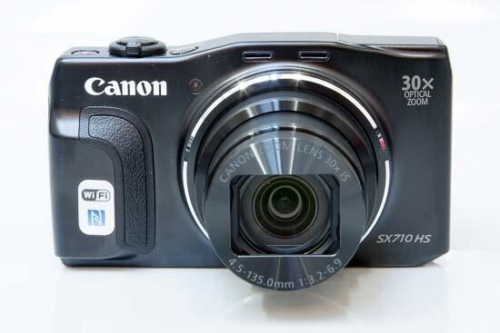 Đánh giá máy ảnh compact Canon PowerShot SX710 HS