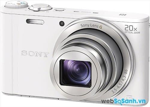 Đánh giá máy ảnh compact Sony Cyber-shot DSC-WX350