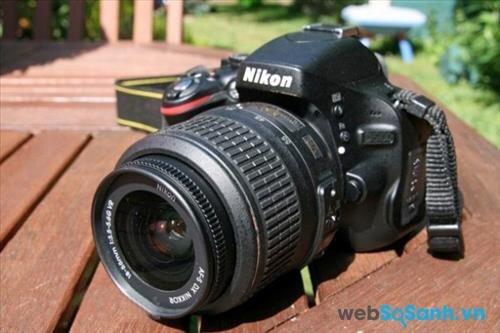 Đánh giá máy ảnh DSLR Nikon D5100