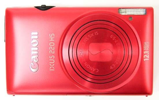 Đánh giá máy ảnh du lịch Canon IXUS 220 HS
