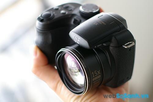 Đánh giá máy ảnh GE X5 – máy ảnh giá rẻ với ống kính zoom 15X
