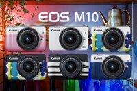 Đánh giá máy ảnh không gương lật Canon EOS M10