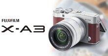Đánh giá máy ảnh mirrorless Fujifilm X-A3