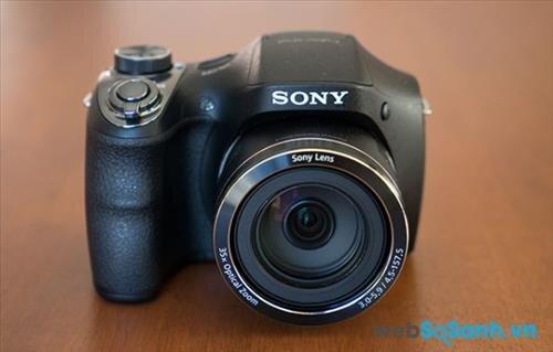 Đánh giá máy ảnh Sony Cyber-shot DSC-H300: máy ảnh compact siêu zoom giá rẻ