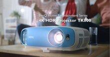 Đánh giá máy chiếu 4K UHD BenQ TK800