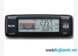 Đánh giá máy đếm bước chân TANITA AM- 120