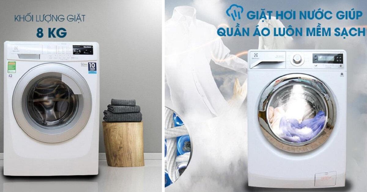 Đánh giá máy giặt electrolux ewf12844 : Tốt cho mẹ – Khỏe cho con