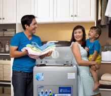 Đánh giá máy giặt lồng đứng Samsung WA11W9IEC