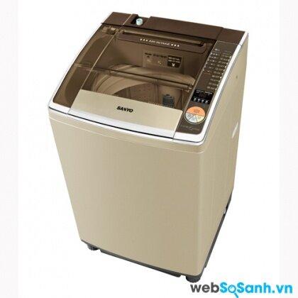 Đánh giá máy giặt lồng nghiêng Sanyo ASW-U125ZT