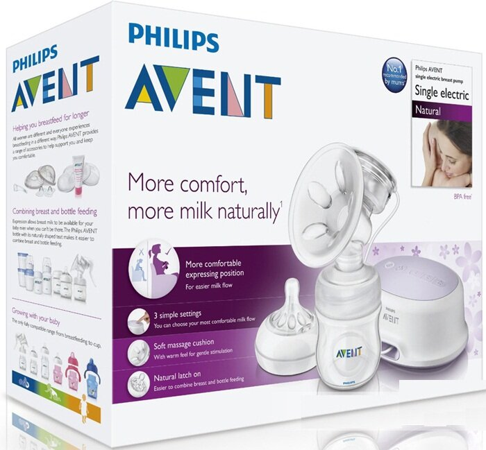 Đánh giá máy hút sữa đơn bằng điện Philips AVENT SCF332/01