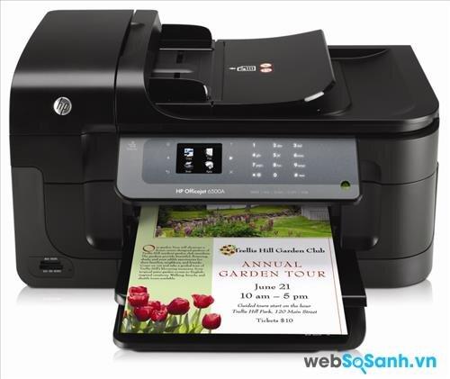 Đánh giá máy in đa năng cho văn phòng HP Officejet 6500A
