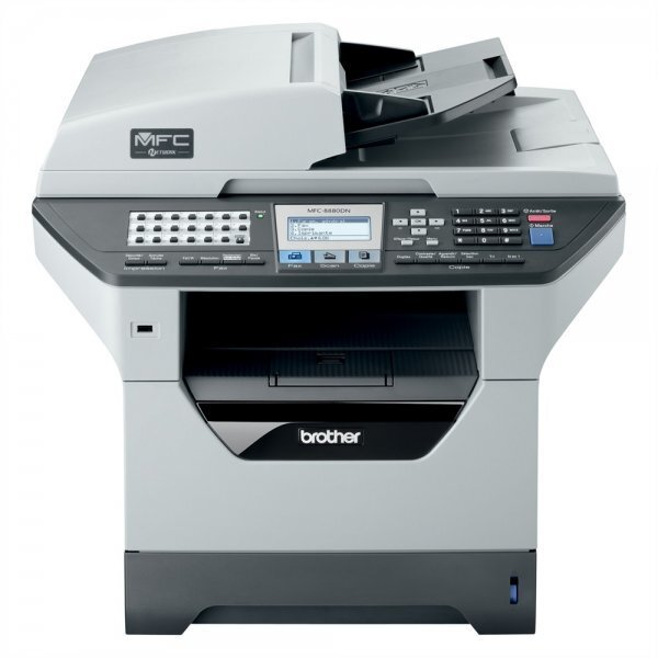 Đánh giá máy in đen trắng đa năng Brother MFC 8880dn