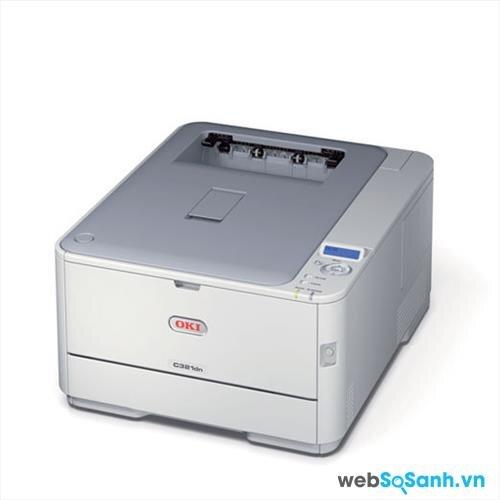 Đánh giá máy in laser dành cho văn phòng vừa và nhỏ Oki C321