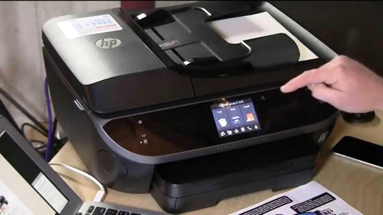 Đánh giá máy in màu đa năng HP OfficeJet 8040 cho văn phòng nhỏ