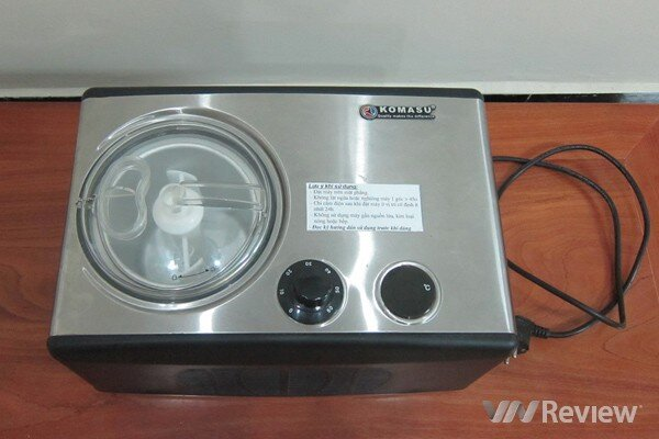 Đánh giá máy làm kem Komasu KM-1516
