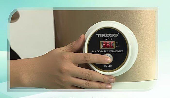 Đánh giá  máy làm tỏi đen Tiross TS 904