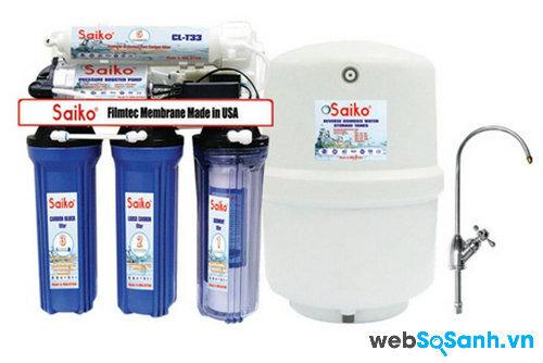 Đánh giá máy lọc nước Saiko RO 787 nhập khẩu nguyên chiếc từ Malaysia
