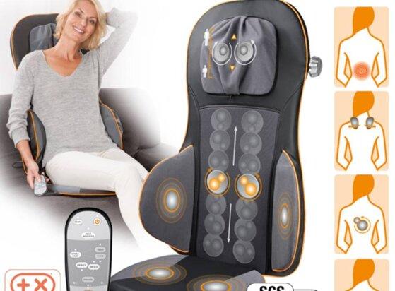 Đánh giá máy massage Medisana toàn thân cổ vai gáy bụng có tốt không